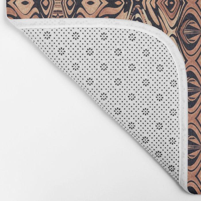 Abstract Pattern 16/2 Bath Mat