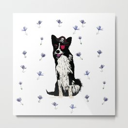 Pirate Dog  Metal Print