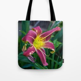 Purple Lily SRF 17-5809 Tote Bag