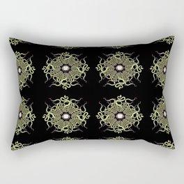 Serpentine Mandala V Rectangular Pillow