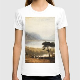 Lake of Geneva from Montreux (1810) by J.M.W. Turner T-shirt