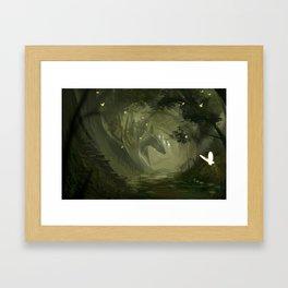 Verdant Haven Framed Art Print