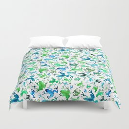 Tree Frogs Duvet Cover