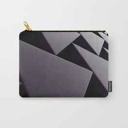 Violet stone prisms pattern Carry-All Pouch