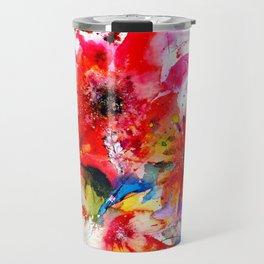 Watercolor garden II Travel Mug