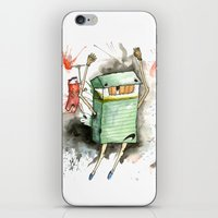 run iPhone & iPod Skins featuring RUN! by Travis Sykes