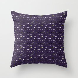 Eyes in the night Throw Pillow