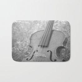 Violin Nature Bath Mat