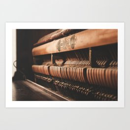 musical hammers Art Print