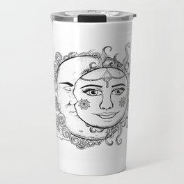 Sun and Moon Travel Mug