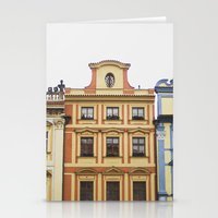 prague Stationery Cards featuring Prague   by Kameron Elisabeth