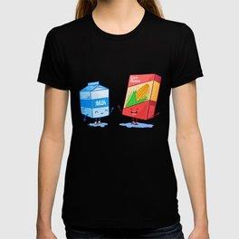 Milk and Corn (Best friends. Character set.) T-shirt