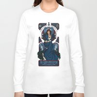 bioshock infinite Long Sleeve T-shirts featuring Infinite Nouveau by Miss-Lys