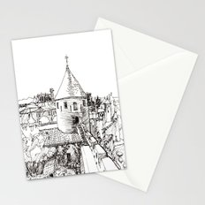 garden tower Stationery Cards