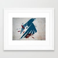 infamous Framed Art Prints featuring inFamous Second Son Good Karma by Kyrsten Carlson