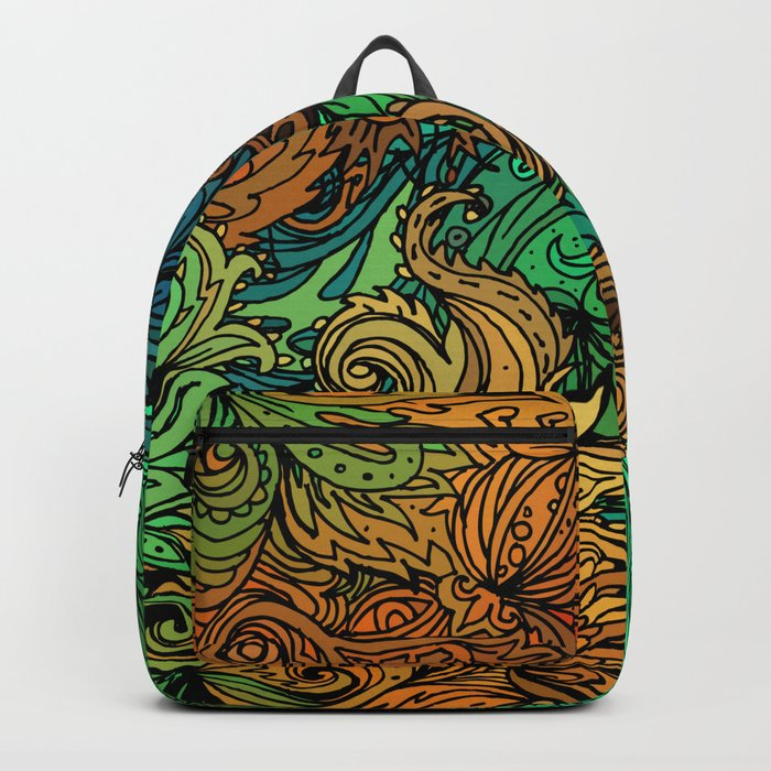 Indian Pattern 02 Backpack