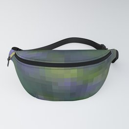 Violet , geometric , abstract Fanny Pack