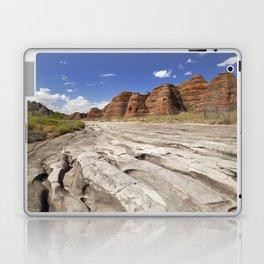 Dry riverbed in Purnululu National Park, Western Australia Laptop & iPad Skin