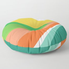 The beach Floor Pillow
