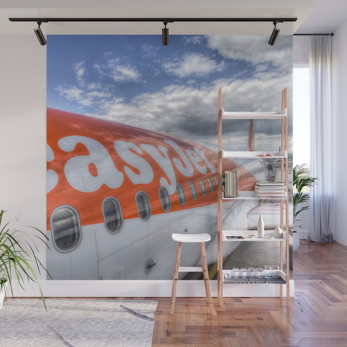 EasyJet Airbus A320 Wall Mural by davidpyatt