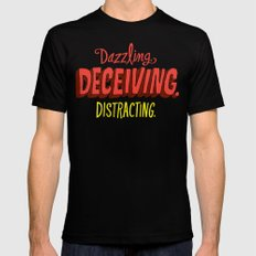 Triple D's Black MEDIUM Mens Fitted Tee