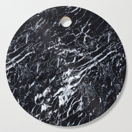 Real Marble Black Cutting Board