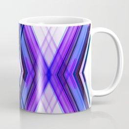 Vertica - Ultra Violet Minimal Geometric Abstract Coffee Mug