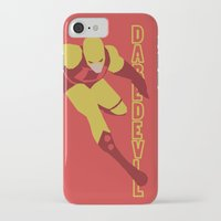 daredevil iPhone & iPod Cases featuring Daredevil by Young Jake