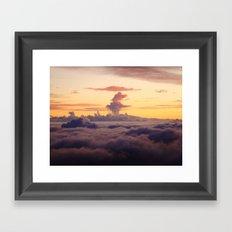 HALEAKALA'S CLOUDS Framed Art Print