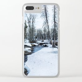 Dreaming of Cottonwood Creek Clear iPhone Case