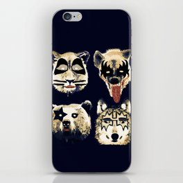 Give me a kiss iPhone Skin