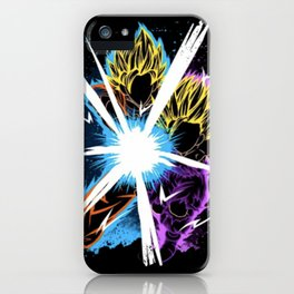 The Father Supporting The Son! iPhone Case