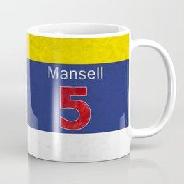 Mansell Red 5 Coffee Mug
