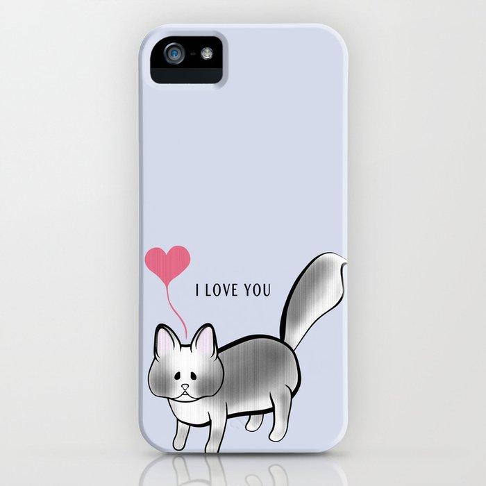 I Love You: Meet Bassonio iPhone Case