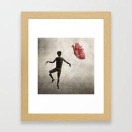 In Control Framed Art Print