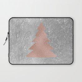 Industrial rose christmas - tree Laptop Sleeve