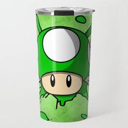 1-Up Mushroom Crossbones Travel Mug