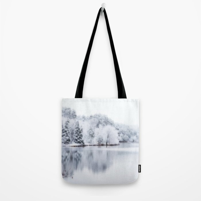 White Wonder Reflection Tote Bag