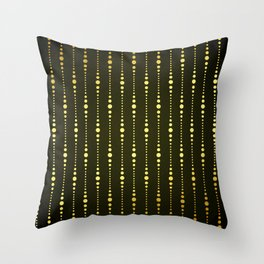 Art Deco Le Carnaval Pattern Throw Pillow