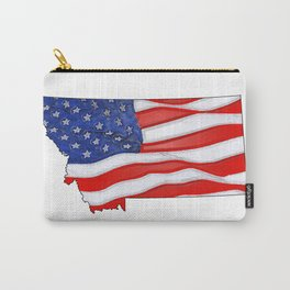Patriotic Montana Carry-All Pouch