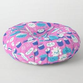 Sushi fun park Floor Pillow