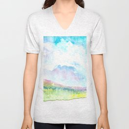 dreamscape Unisex V-Neck