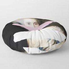 Brutalized Gainsborough 2 Floor Pillow