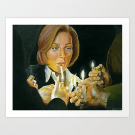 I just don't know which one of you will light my fire Art Print