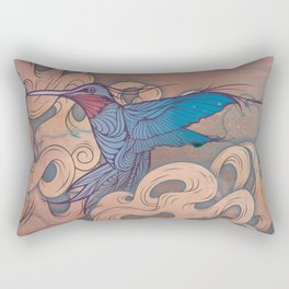 The Aerialist Rectangular Pillow