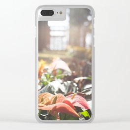 Basking in the Sunlight Clear iPhone Case