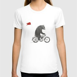 Motorcycle Bear T-shirt