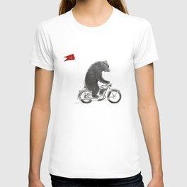 Motorcycle Bear T-shirt