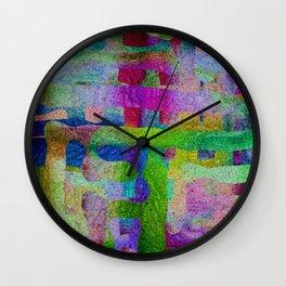 Hidder Matrix Wall Clock