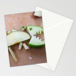 Apple-Saurus Rex Stationery Cards